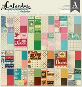 Sentiments Pad - The Calendar Collection - Authentique