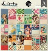 Complete Calendar Paper Pad - Authentique