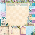 January Paper - Time & Place - Bo Bunny - PRE ORDER