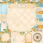 April Paper - Time & Place - Bo Bunny - PRE ORDER