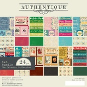 The Calendar Collection 6 x 6 Paper Pad - Authentique