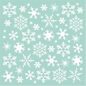 Snowflakes Stamperia Stencil Johanna Rivero