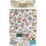 "Christmas Idea-Ology Worn Wallpaper 5""X8"" 24/Pkg"