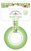 Boughs Of Holly Washi Tape - Christmas Magic