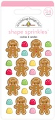 Cookies & Candies Shape Sprinkles - Doodlebug
