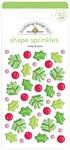 Holly & Pine Shape Sprinkles - Doodlebug