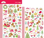Christmas Magic Mini Icon Stickers - Doodlebug