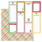 Plaidsome Tidings Paper - Christmas Magic - Doodlebug