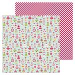 Deck The Halls Paper - Christmas Magic - Doodlebug