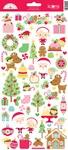 Christmas Magic Icon Stickers - Doodlebug