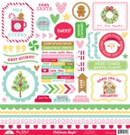 Christmas Magic This & That Sticker Sheet - Doodlebug