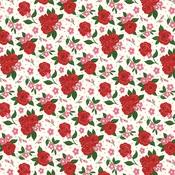 Valentine's Floral Paper - Be My Valentine - Echo Park