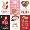 4x6 Journaling Cards Paper - Be My Valentine - Echo Park