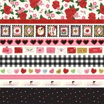 Border Strips Paper - Be My Valentine - Echo Park