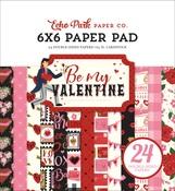 Be My Valentine 6x6 Paper Pad - Echo Park