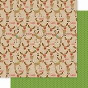Reindeer Crossing Paper - Santa Squad - Bella Blvd