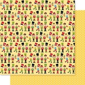 Nutcrackers Paper - Santa Squad - Bella Blvd
