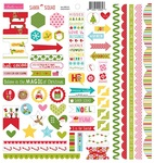 Santa Squad Doohickey Stickers - Bella Blvd