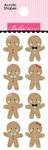 Gingerbread Acrylic Shapes - Santa Squad - Bella Blvd