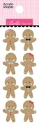 Gingerbread Acrylic Shapes - Santa Squad - Bella Blvd