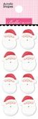 Santa's Acrylic Shapes - Santa Squad - Bella Blvd - PRE ORDER