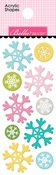 Snowflakes Acrylic Shapes - Santa Squad - Bella Blvd