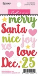 Christmas Words Epoxy - Santa Squad - Bella Blvd