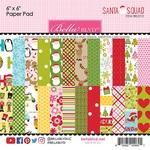 Santa Squad 6 x 6 Paper Pad - Bella Blvd