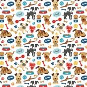 Woof Woof Paper - I Love My Dog - Echo Park