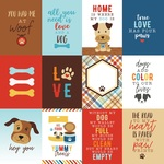 3X4 Journaling Cards Paper - I Love My Dog - Echo Park