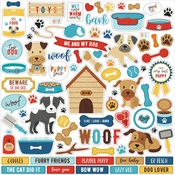 I Love My Dog Element Sticker - Echo Park