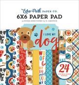 I Love My Dog 6x6 Paper Pad - Echo Park