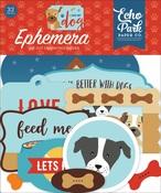 I Love My Dog Ephemera - Echo Park