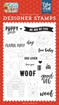 Puppy Love Stamp Set - Echo Park