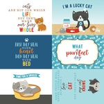 4X6 Journaling Cards Paper - I Love My Cat - Echo Park