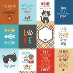 3X4 Journaling Cards Paper - I Love My Cat - Echo Park