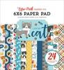 I Love My Cat 6x6 Paper Pad - Echo Park