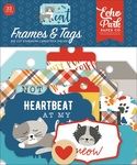 I Love My Cat Frames & Tags - Echo Park