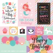 Multi Journaling Cards Paper - It's Your Birthday Girl - Echo Park