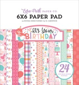It's Your Birthday Girl  6x6 Paper Pad - Echo Park