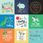 4X4 Journaling Cards Paper - It's Your Birthday Boy - Echo Park