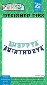 Happy Birthday Boy Banner Die Set - Echo Park