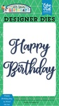 Happy Birthday Boy #2 Word Die Set - Echo Park