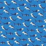 Shark Dance Paper - Fish Are Friends - Carta Bella - PRE ORDER