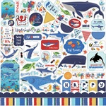Fish Are Friends Element Sticker - Carta Bella