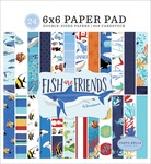 Fish Are Friends 6x6 Paper Pad - Carta Bella