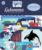 Fish Are Friends Ephemera - Carta Bella - PRE ORDER
