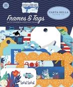 Fish Are Friends Frames & Tags - Carta Bella - PRE ORDER
