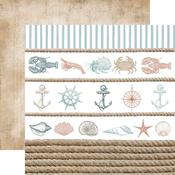 Sea Shore Paper - Uncharted Waters - KaiserCraft