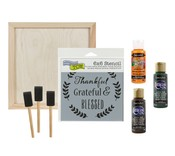 Thankful Wood Decor Kit